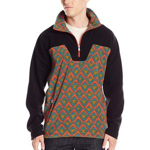PRANA Mens Arnu Fleece Pull Over Jacket